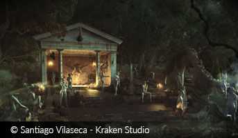 Santiago Vilaseca Kraken Studio Witch Ceremony